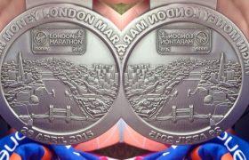 London Marathon Medal 2015 Feature Photo