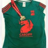Cardiff Half Marathon Race T-Shirt & Medal