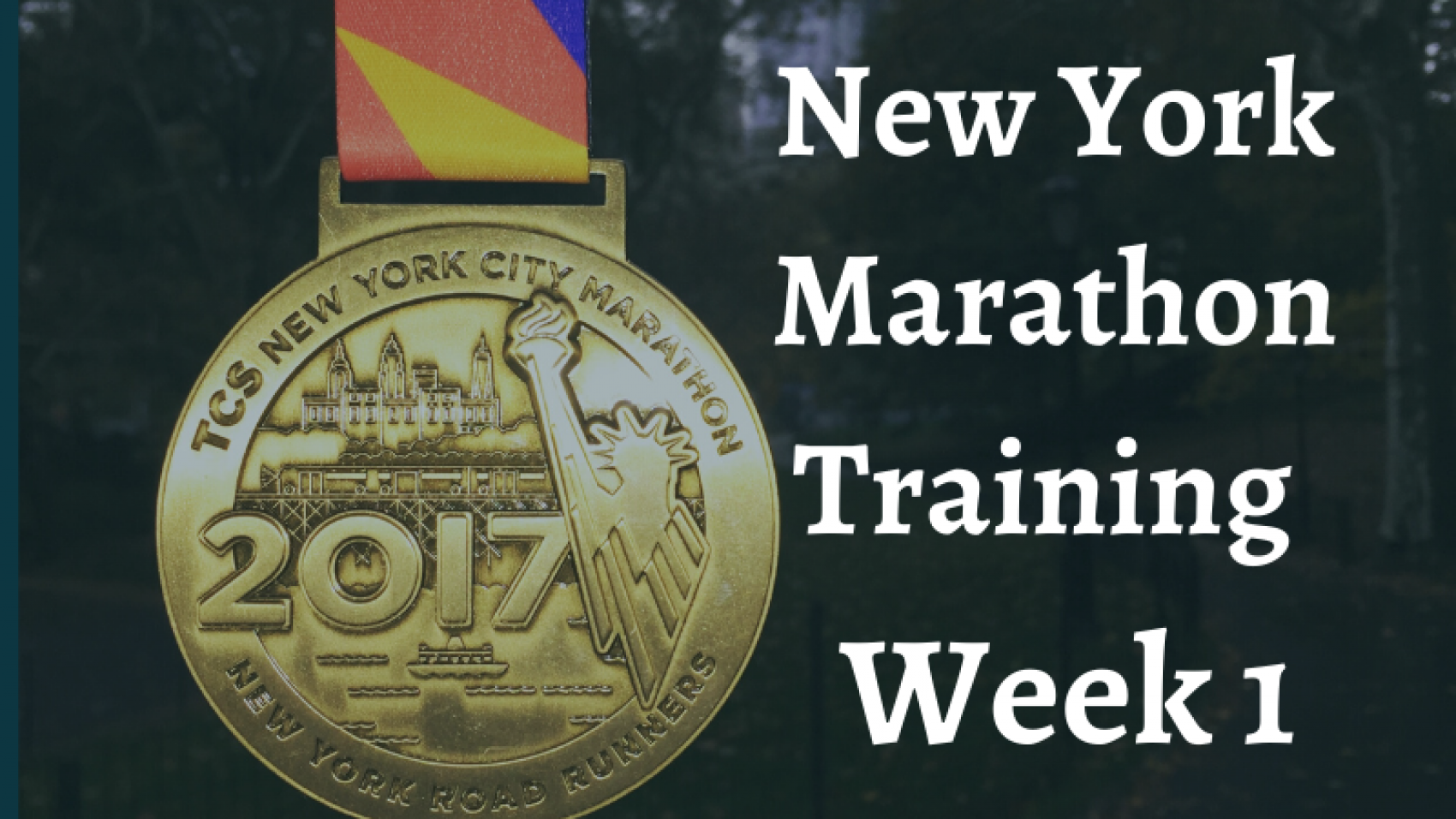New York Marathon Week 1