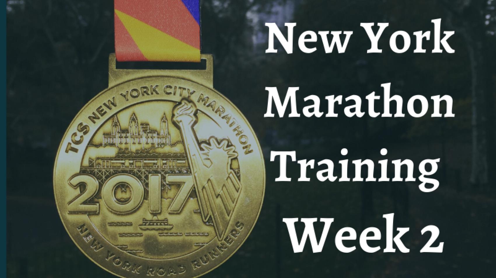 New York Marathon Week 2