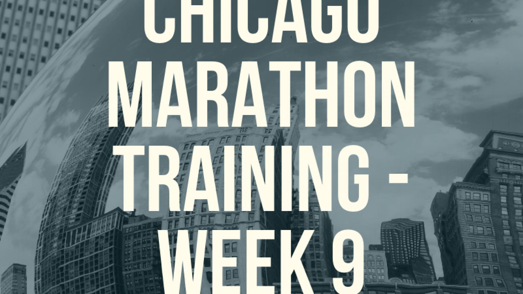 Copy of Copy of Chicago Marathon Training