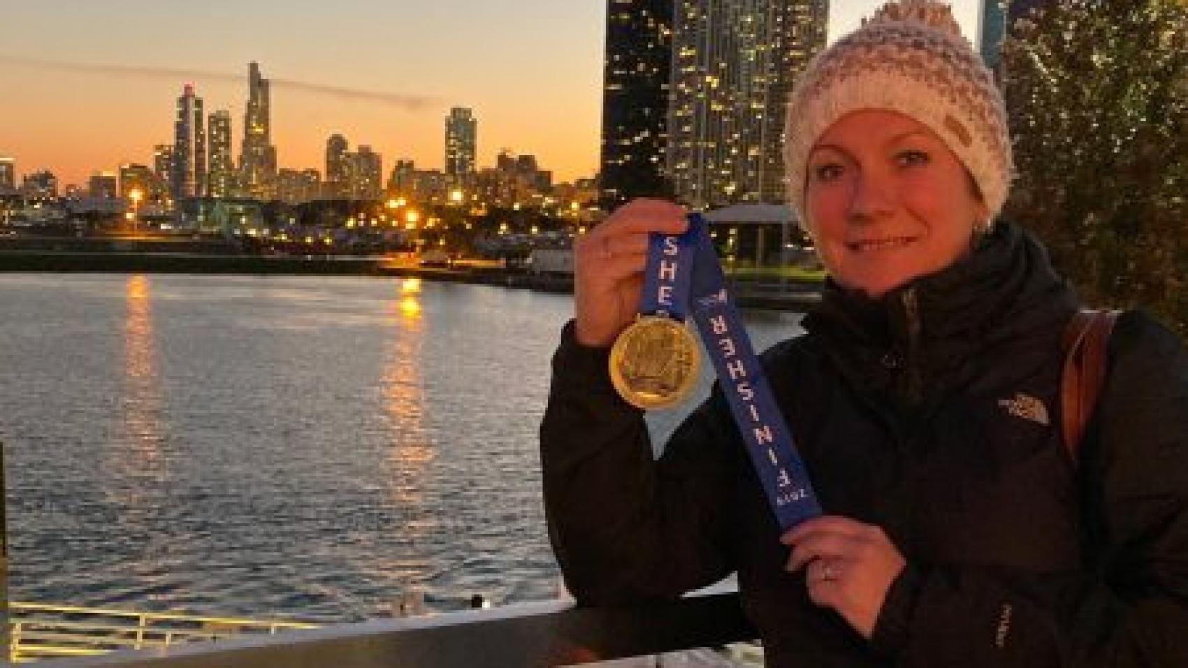 Rula Runs Chicago Medal