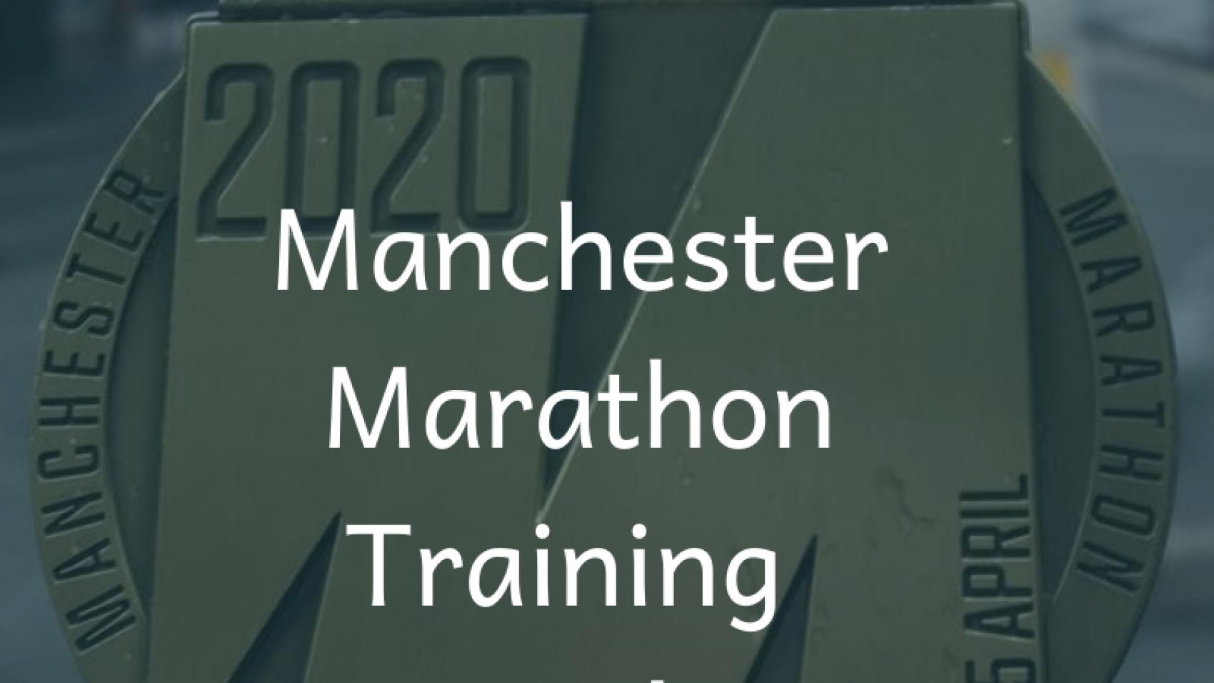 Manchester Marathon training Week 5