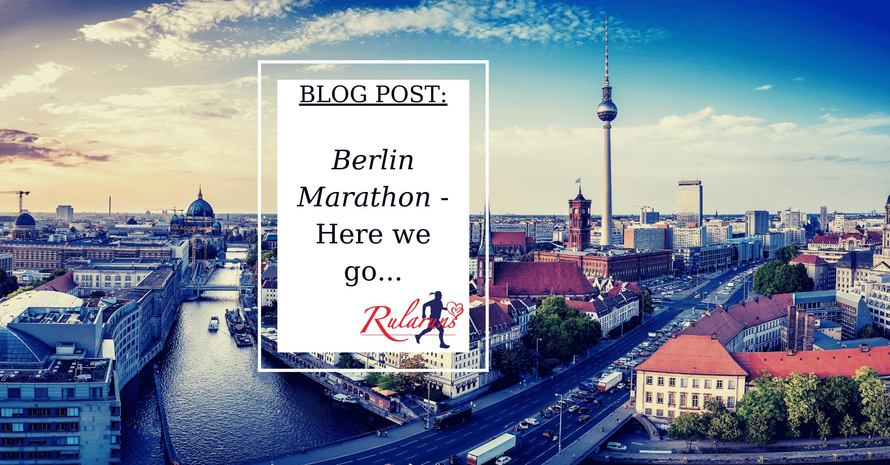 Berlin Marathon Blog Feature